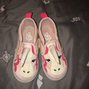 Toddler Unicorn Vans